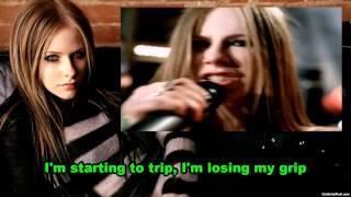 Avril Lavigne - Losing Grip (Instrumental) (Lyrics)