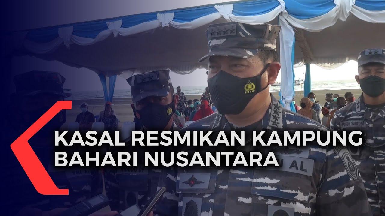 Kasal Resmikan Kampung Bahari Nusantara