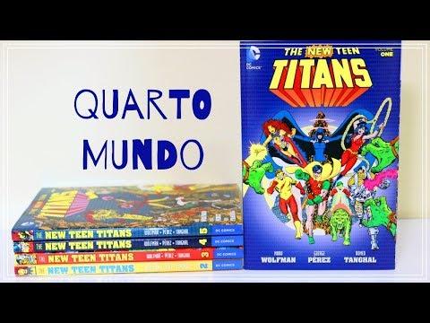 NOVOS TITÃS DO MARV WOLFMAN & GEORGE PÉREZ #quartomundotododia