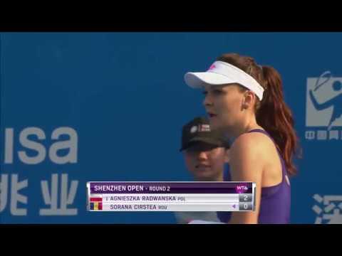 2017 Shenzhen Open Second Round Hot Shot | Agnieszka Radwanska
