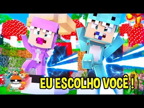 OS GÊMEOS VIRARAM POKEMONS - MINECRAFT A LENDA DOS CAMPEÕES 3 #02