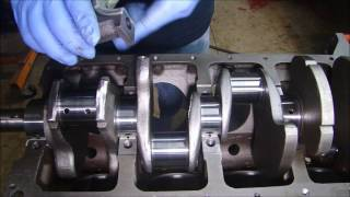 Engine Rebuilding Studebaker 289 - Assembly Part 1