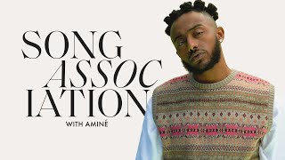 "AMINÉ Raps Jay-Z, Roddy Ricch, and ""Compensating"" in a Game of Song Association 