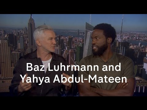 Baz Luhrmann and Yahya Abdul-Mateen II on 'The Get Down' streaming vf