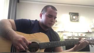 Сплин- Бонни и Клайд ( cover ) на гитаре кавер