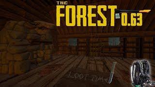 The Forest V0.63b - Современный топор/Акваланг и дргугой лут #2