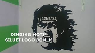 Siluet Logo Bonek Persebaya || Cat Kreasi Dinding