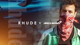 Daniel Ricciardo previews the R H U D E x McLaren collection   AW21