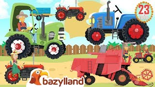 Farmers and Farm Work + More Vehicles and Agricultural Machinery - Bazylland