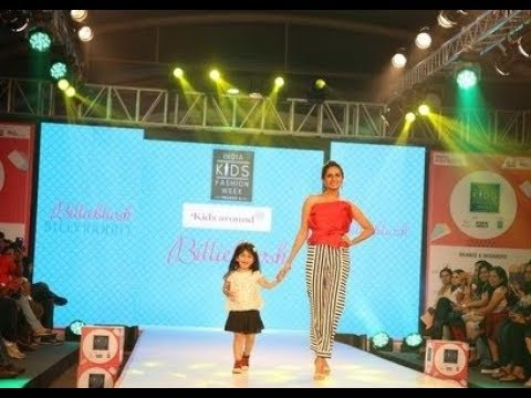 Autumn-Winter collection by Fayon Troupe at India Kids fashion show 2017