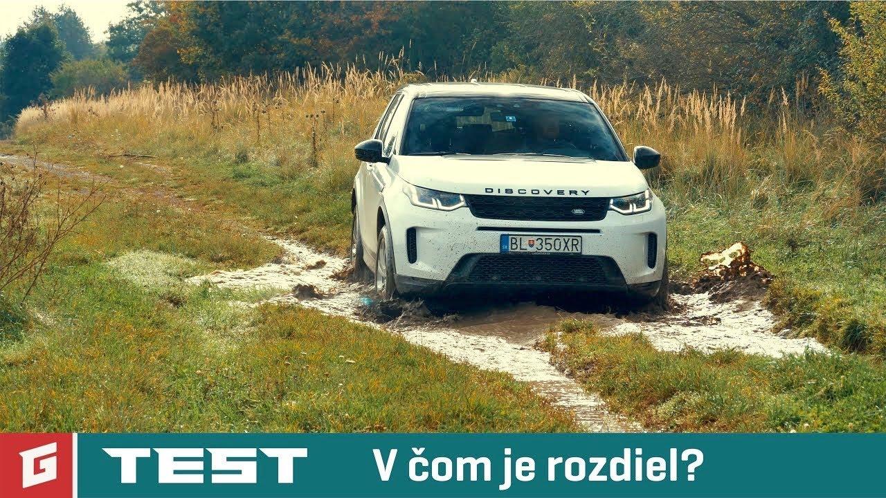 Land Rover DISCOVERY SPORT 2020 - SUV - TEST - GARAZ.TV - Rasťo Chvála - YouTube