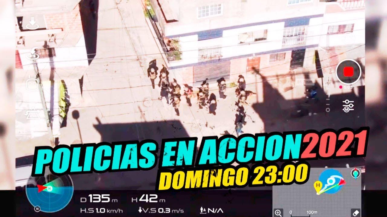 ¡Toda la adrenalina en un solo lugar! Domingo 01 de agosto a las 23:00 en POLICÍAS EN ACCIÓN