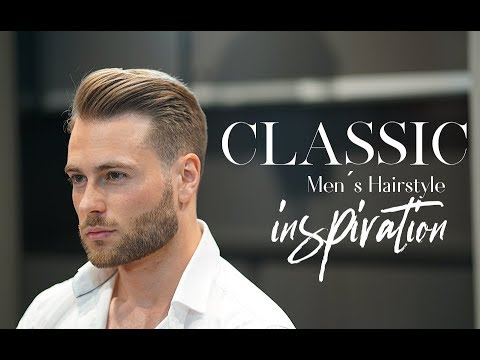 Classic Men S Hairstyle Inspiration Short Clean Haircut Youtube