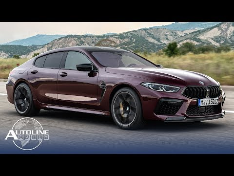 BMW 4-Door M8 Debuts, Driving Time On The Rise - Autoline Daily 2693