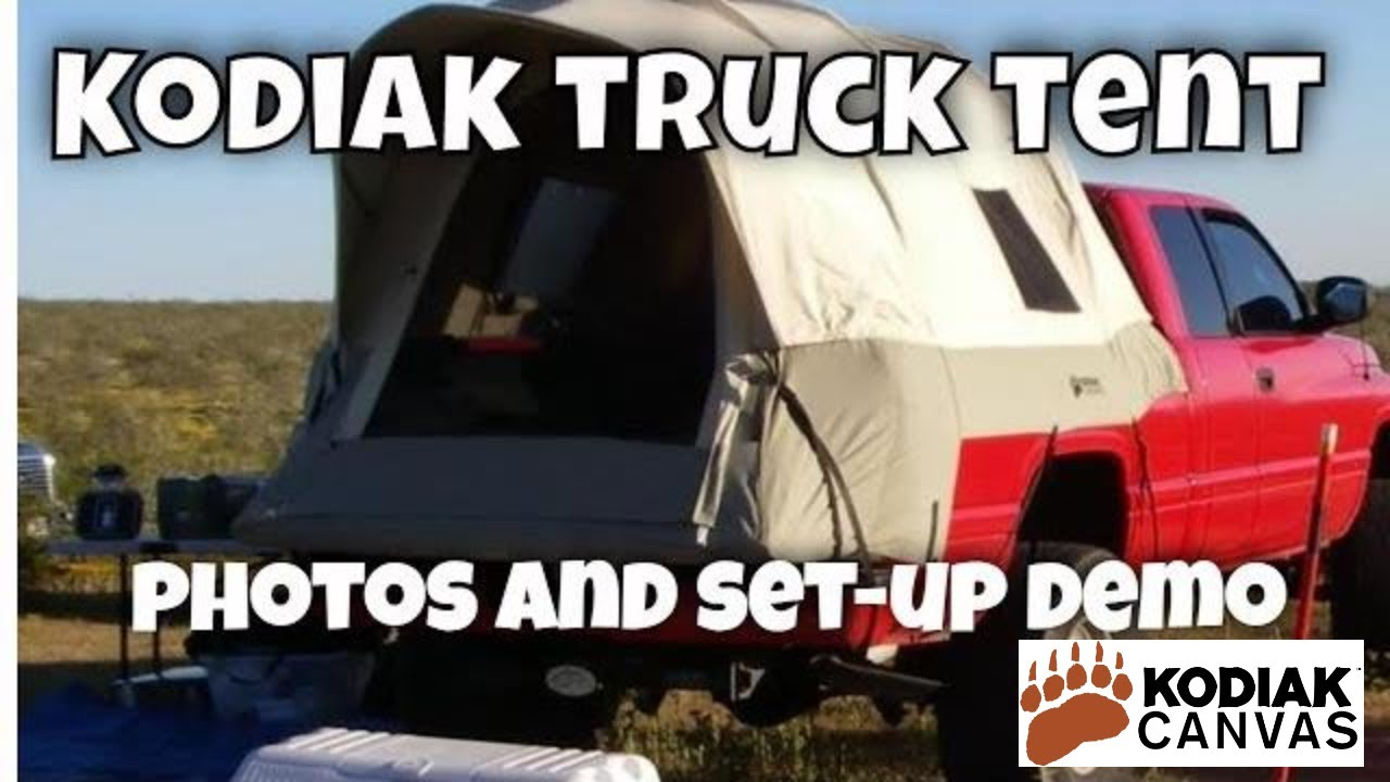 Kodiak Canvas Truck Tent Demo And Set Up Youtube