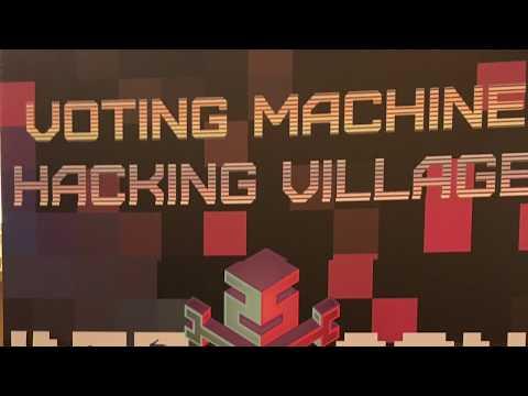 Jake Braun, CEO of Cambridge Global @ DEF CON 25 Voting Machine Hacking Village 7.28.17