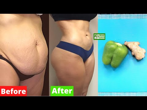 How to Lose Belly Fat Permanently Fast with Green Pepper