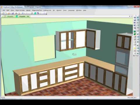 Kitchen Design using Cabinet Software