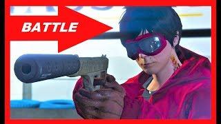 GTA 5 Online NICE Shooting Battle , Deathmatch , PvP Doc VS Andy, CCF 6,2