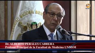 Tema: Honoris Causa Dr. Juan Mezzich Izaguirre