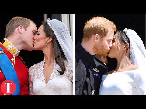 Royal Weddings Then Vs. Now: Meghan Markle, Kate Middleton, Princess Diana, Queen Elizabeth II