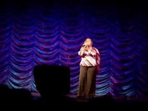 Devonie singing 'Gloria' by Laura Branigan