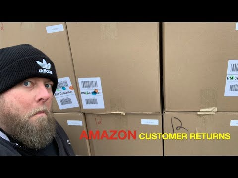 I bought a $3111 Amazon Customer Returns General Goods Pallet + 8 HUGE Mystery Boxes