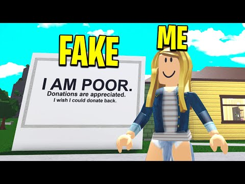 i-pretended-to-be-poor-to-test-my-roblox-friend!-(roblox-bloxburg)