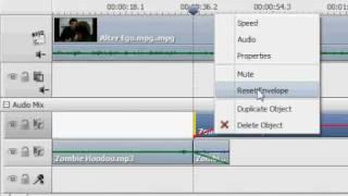 AVS Video Editor 5.1  - Editing Audio Envelopes Tutorial