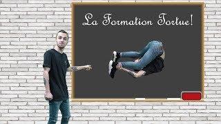 SQUEEZIE ENSEIGNE LA FORMATION TORTUE AUX ROMAINS!!!!  (squeezie fond vert)