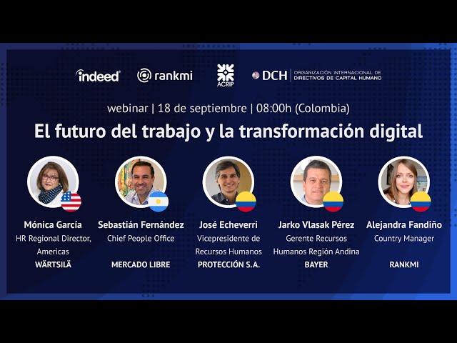 El futuro del trabajo y la transformación digital