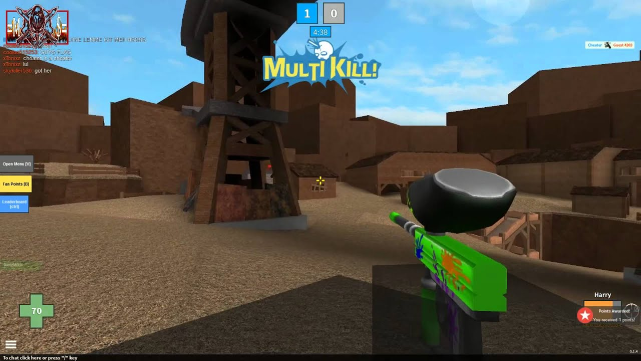 Roblox Mad Paintball Harry Sniper headshots - YouTube |Mad Paintball Sniper