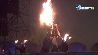 Сергей Порицкий установил рекорд мира по выдуванию огня