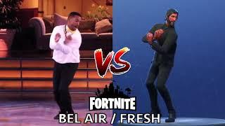 [DANCE] BEL AIR / FRESH   IN REAL LIFE ► FORTNITE