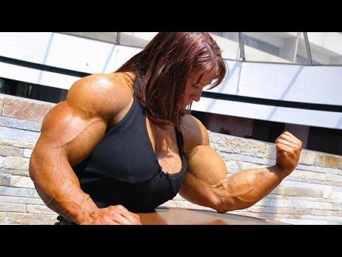 Muscle women armwrestling - Renáta Hronová vs Barboraиз YouTube · Длительность: 54 с