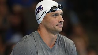 Ryan Lochte Formally Charged After Faking Robbery