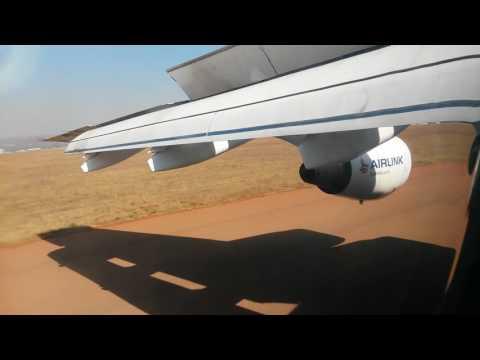 SA Airlink Avro RJ-85 landing Wonderboom airport
