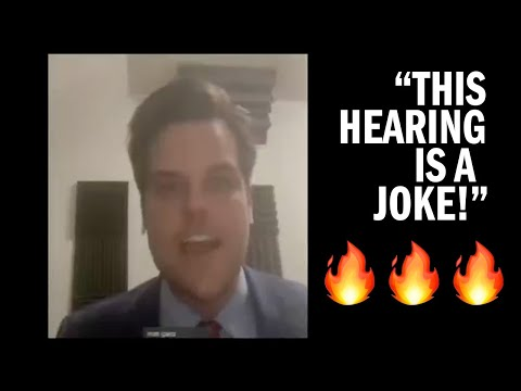 "Rep. Gaetz DESTROYS Military Cancel Culture at HASC Hearing on ""Extremism"""