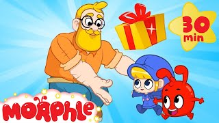 Happy Birthday Daddy!   Mila and Morphle's Surprise Party   Cartoons for Kids   Morphle TV