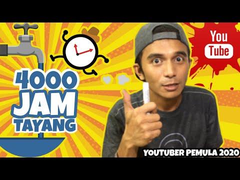 4000-jam-tayang-youtuber-pemula-2020