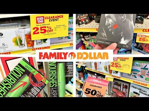 FAMILY DOLLAR CLEARANCE SHOPPING!!!