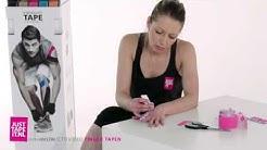 Selbst Finger tapen Anleitung » Schritt für Schritt Kinesiologie Tape anlegen