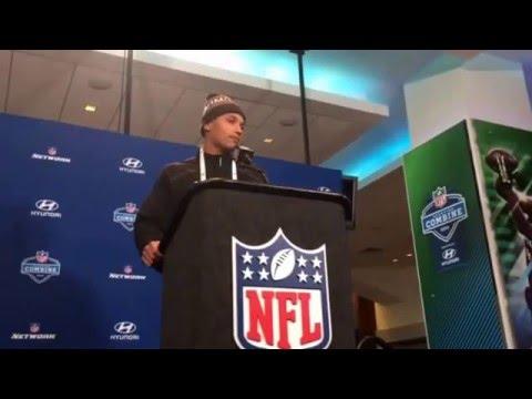 NFL Combine Update Confident Su'a Cravens USC Trojans NFL Ready #NFLCombine