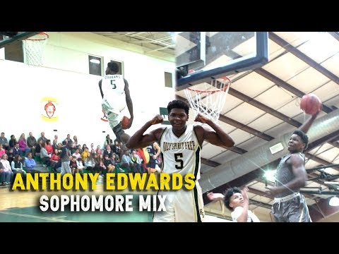 Anthony Edwards Had A Monster Sophomore Campaign | Official Sophomore Mix