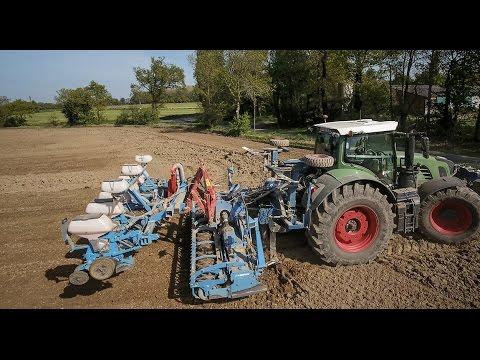 ETA ROBILLARD with FENDT 930 at seeding corn
