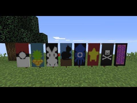 Cách tạo các banner đẹp trong Minecraft