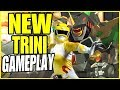 NEW Trini Gameplay + VOICE ACTING! (Power Rangers Battle For the Grid)
