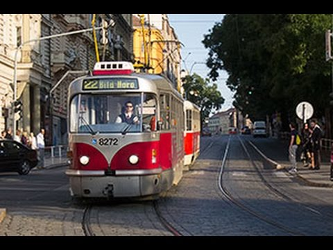 Fun Tram Experience: Riding the Prague Czech City System
