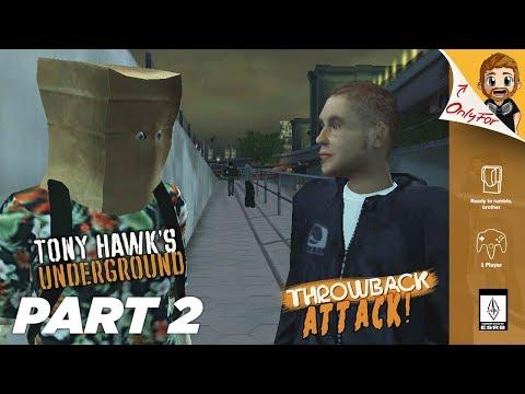 Tony Hawk Underground Part 2 | MANHATTAN (Throwback Attack)