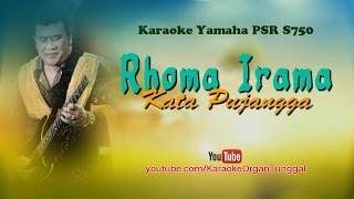 Video Rhoma Irama - Kata Pujangga | Karaoke Yamaha PSR S750 download MP3, 3GP, MP4, WEBM, AVI, FLV Oktober 2018